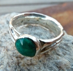 chrysocolla ring 6