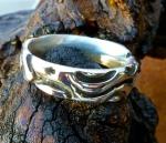 blackened ring