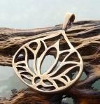 bronze lotus