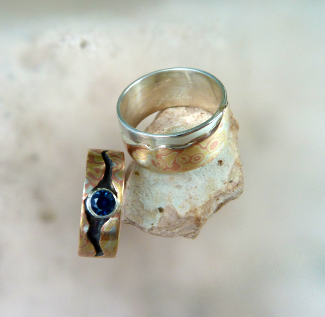 Mountain Amore and the Big Sky ~ Wedding Rings (6/6)