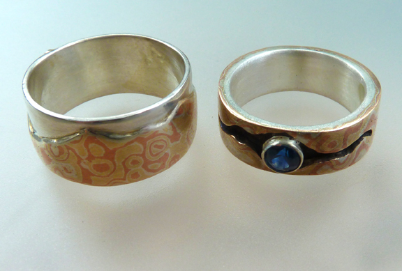 Mountain Amore and the Big Sky ~ Wedding Rings (4/6)