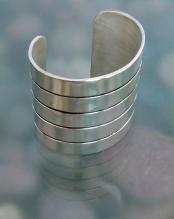 Fine Silver Overlay Cuff 2012