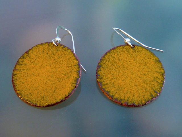 yellow earrings.1