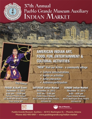Publeo GRand Museum Indian Market 2013